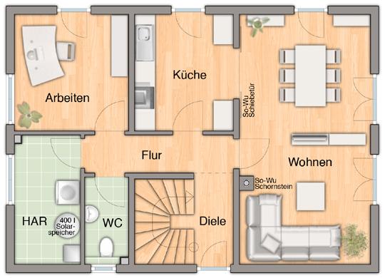 Town country baustellenbesichtigung in rangsdorf for Hausplanung grundriss