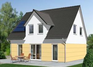 Einfamilienhaus mit Gaube