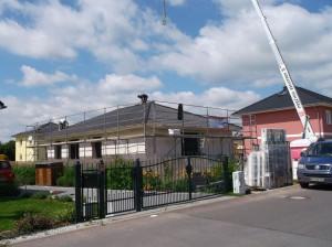 Dacheindeckung Bild 1
