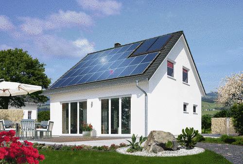 """Town & Country """"bau-o-meter"""": Bauherren bevorzugen zunehmend Massivhäuser mit Solaranlagen zur Stromerzeugung"""