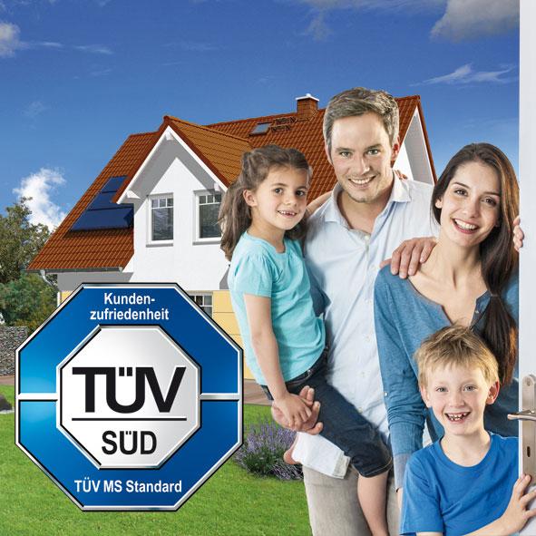 """Town & Country Haus erhält TÜV-Siegel für """"Geprüfte Kundenzufriedenheit"""""""